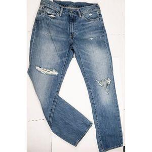 Levi's 541 Destroyed Jeans Large Logo Patch 31x32